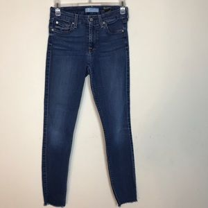 7 for All Mankind- b(air) straight leg Jeans s 24